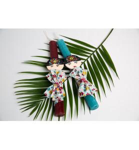 Πασχαλινή λαμπάδα Frida