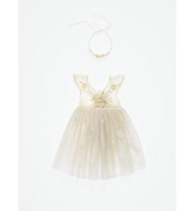 Βαπτιστικό εξώπλατο φόρεμα...